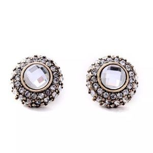 Sophisticated Button Earrings